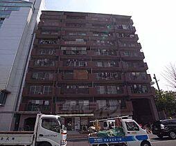 京都府京都市右京区西大路通松原上る西院高田町の賃貸マンションの外観