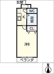 シーズンコート瀬戸[3階]の間取り