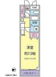 長谷川メディカルプラザ富岡[307号室]の間取り