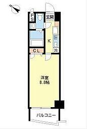 ソレイユ豊−1[3階]の間取り