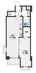 MDL Apartment[207号室]の間取り