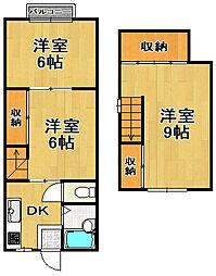マンション神田[4階]の間取り