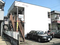 東京都武蔵村山市大南2丁目の賃貸アパートの外観