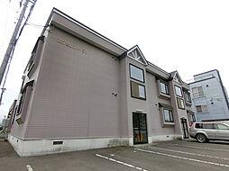 北海道札幌市厚別区厚別中央五条1丁目の賃貸アパートの外観