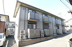 千葉県松戸市六実6丁目の賃貸アパートの外観