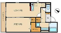 グランレディア[2階]の間取り