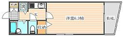 ライオンズマンション県庁東[4階]の間取り