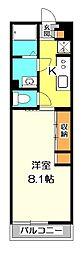 リブリ・H2O II[3階]の間取り