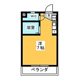いちごハウス[2階]の間取り