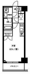 ポルトパルティーレ横浜[3階]の間取り