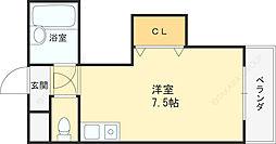 ダゼアマンション[506号室]の間取り