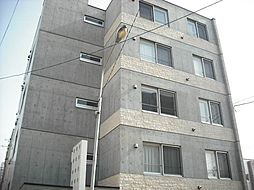 北海道札幌市北区北二十一条西4丁目の賃貸マンションの外観