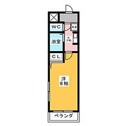 第3鈴木ビル[4階]の間取り