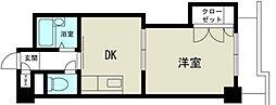 新大阪グランドハイツ北[5階]の間取り