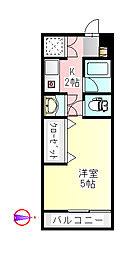 アメリアLコート[3階]の間取り