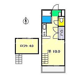 スペースボックス[4階]の間取り