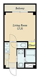 プランドール  305号室[305号室号室]の間取り