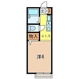 メゾンコマスヤ[2階]の間取り