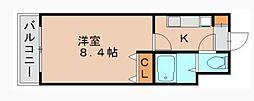 オネスト吉塚[10階]の間取り