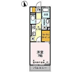 アシスト龍舞[2階]の間取り