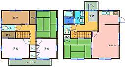 [一戸建] 千葉県船橋市西船1丁目 の賃貸【/】の間取り