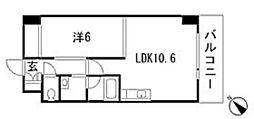 KハイツIII[9階]の間取り