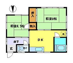 [一戸建] 埼玉県さいたま市中央区本町西2丁目 の賃貸【/】の間取り