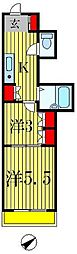 第2石井ビル[4階]の間取り