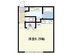 Branche覚王山[4階]の間取り