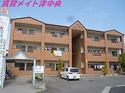 三重県津市久居井戸山町の賃貸マンションの外観