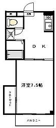 グランメール溝の口[2階]の間取り