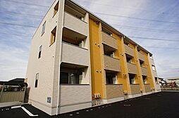 埼玉県行田市持田3丁目の賃貸アパートの外観