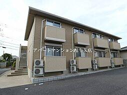 茨城県つくば市榎戸の賃貸アパートの外観