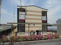 奈良県天理市田町の賃貸アパートの外観