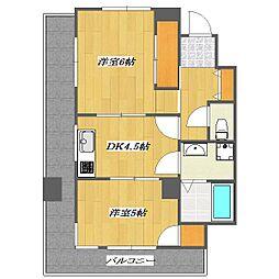 Residence Yama nishikasai[5階]の間取り
