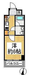 東京都江東区塩浜2丁目の賃貸マンションの間取り