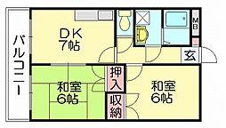 リックリベーラコート[3階]の間取り