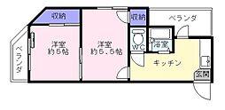 ボヤージュK[3階]の間取り