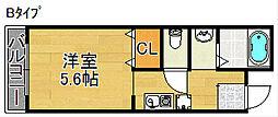 アストロアーク[5階]の間取り