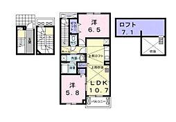 セントリーパーク[3階]の間取り