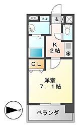 アルバ大須[9階]の間取り