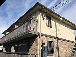 神奈川県横浜市港北区篠原町の賃貸アパートの外観