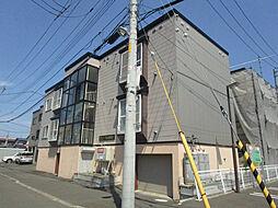 北海道札幌市東区北十九条東19丁目の賃貸アパートの外観