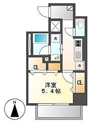 笹島アイサンメゾン[1階]の間取り