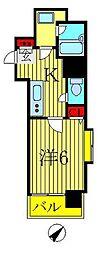 S.I.N.第一ビル[5階]の間取り