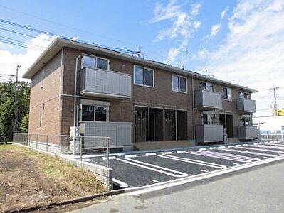 外観,2LDK,面積64.07m2,賃料7.0万円,関東鉄道常総線 小絹駅 徒歩10分,,茨城県つくばみらい市絹の台