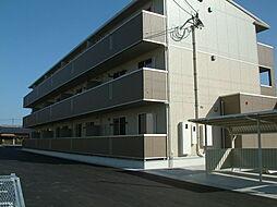 長崎県大村市古賀島町の賃貸アパートの外観