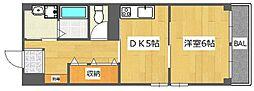 山室屋ビル[3階]の間取り