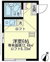 ユナイトステージ 南太田[1階]の間取り