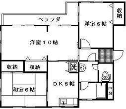 小泉ファインハイツ[3階]の間取り
